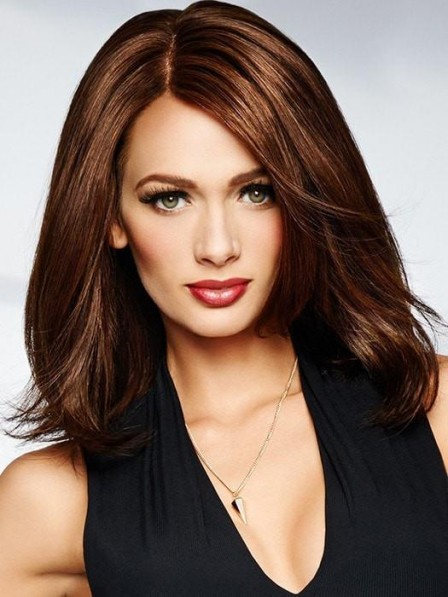 100% Human Hair Lace Front Monofilament Wig
