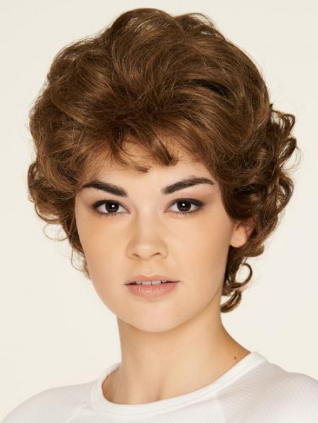 100% Human Hair Wig With a Monofilament Cap