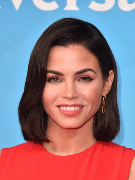 12 inch Full Lace Modern Jenna Dewan Celebrity Wigs for Women