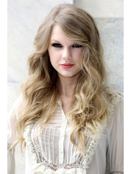 Fashion Haircut Long Blonde Lace Front Wig