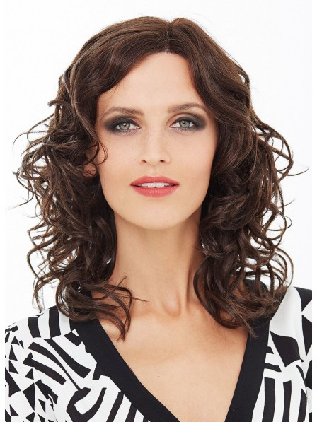 Lace Front Synthetic Hair Curly Wig