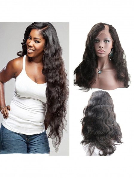 180% density 360 lace frontal wig pre plucked with baby hair braz