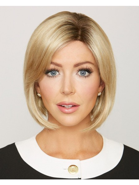 Lace Front Mono Top Blonde Synthetic Hair Bob Wig