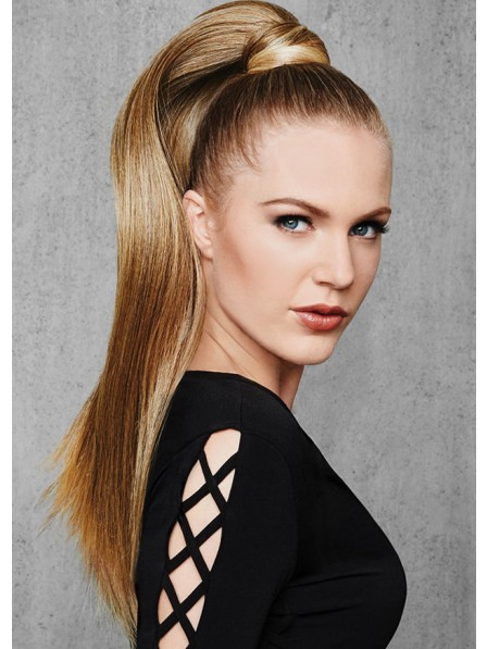 24 inch Straight Wrap Around Ponytail Hair Piece