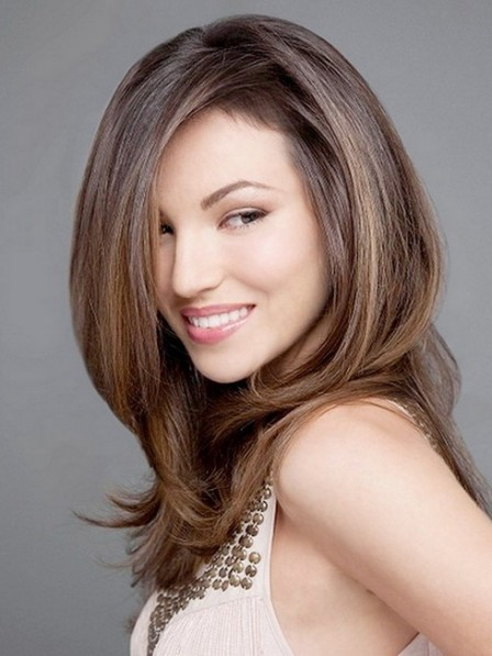Affordable Full Lace Long Straight Synthetic Hair Wigs