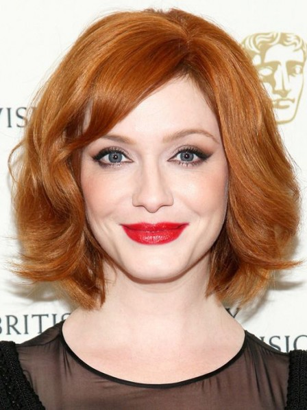 Affordable Lace Front Mono Top Bob Synthetic Celebrity Wigs