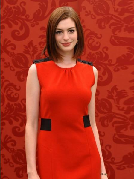 Anne Hathaway Medium Bob Cut Wig