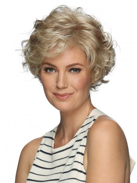 Beautiful Loose Spiral Curls Lace Front Wig