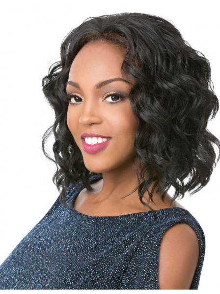 Black women's body wavy hairstyle wigs
