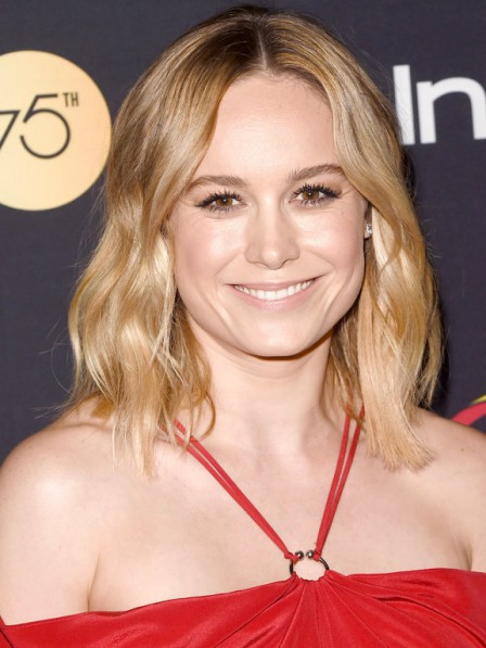 Blonde Full Lace Brie Larson Celebrity Wigs New Arrival