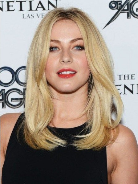 Blonde Full Lace Indian Remy Human Hair Celebrity Wigs For Women