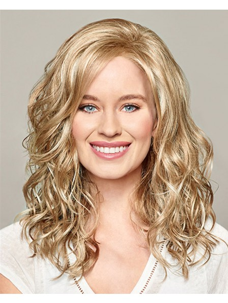 blonde Lace front wig with featherlight