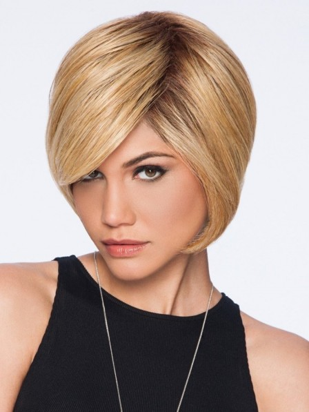 Blonde Layered Bob Wig