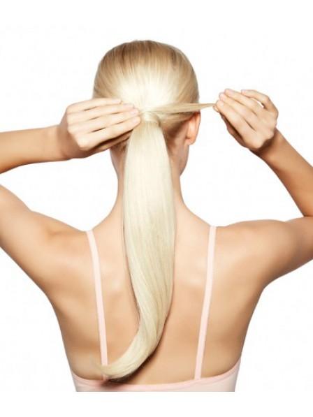 Blonde Long Straight Ponytail
