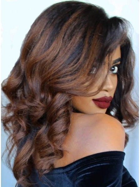 Brown Ombre Waves Full Lace Wig Rewigs Co Uk