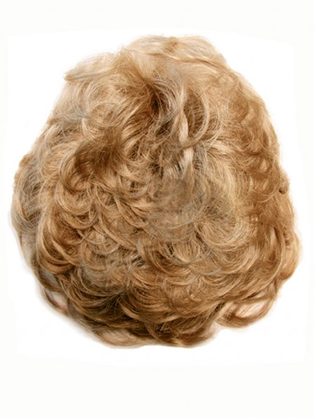 Curly Human Hair Addition Hairpiece