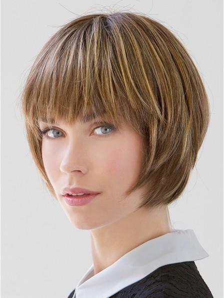"6"" Straight Blonde 100% Human Hair Bangs"