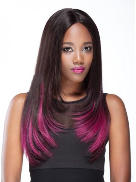 Fuchsia Color Full Lace Wig