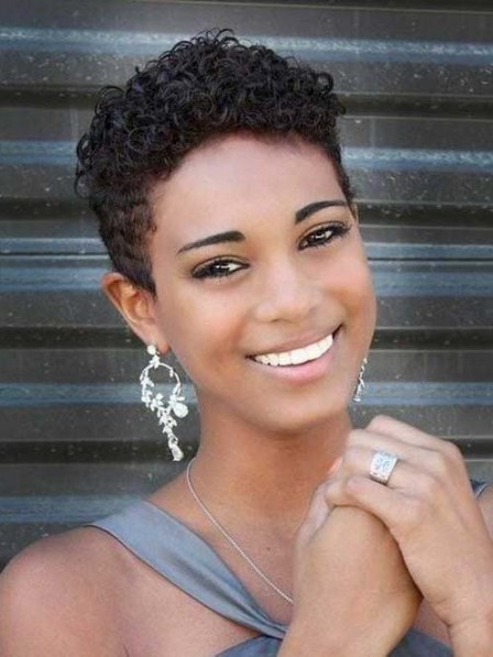 Full Lace Short Curly Synthetic Wigs For Black Women