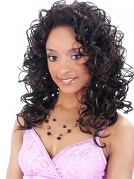 Girl's Medium Synthetic Hair Half Wig - Rewigs