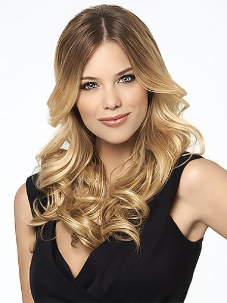 Heat Resistant Synthetic Hair 3/4 Cap Fall