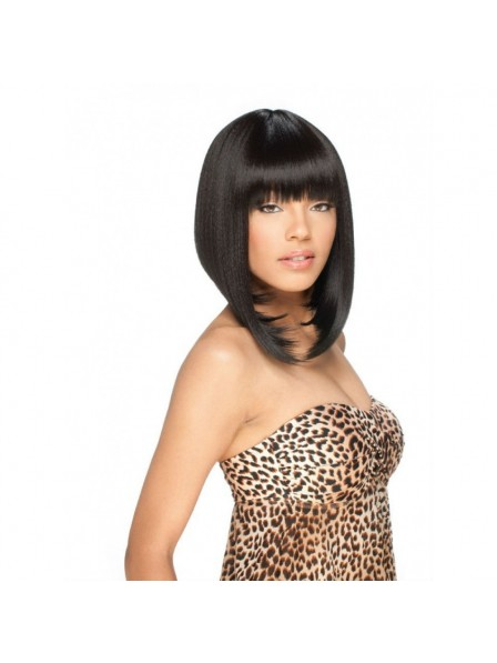 High Resistant Black Bob Wig For Black Women