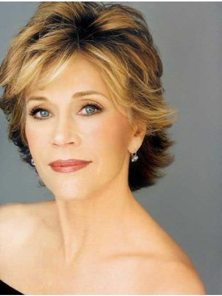 Jane Fonda Synthetic Hair Wig For Ladies