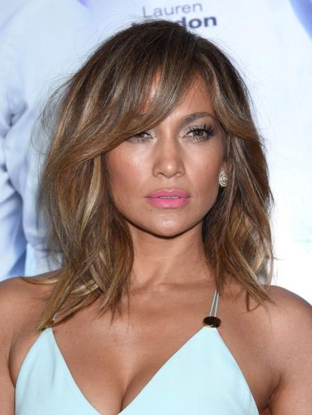 Jennifer Lopez New Brazilian Human Hair Lace Front Wig