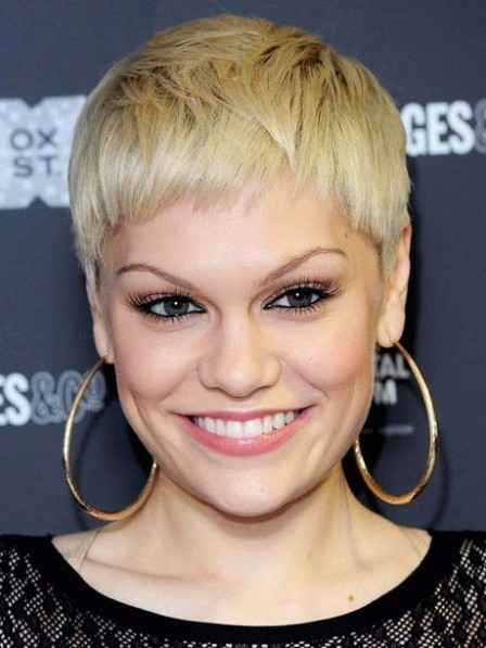 Jessie J New Short Pixie Cut Blonde Wig