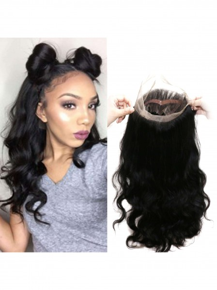 360 Body Wave Lace Frontal Natural Hairline