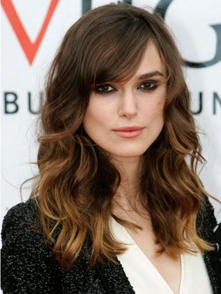 Keira Knightley Long Synthetic Wavy Hair Wig
