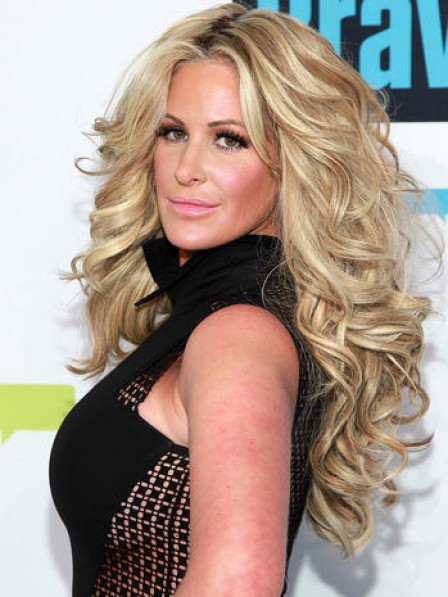 Kim Zolciak Long Body Wavy Human Hair Wig
