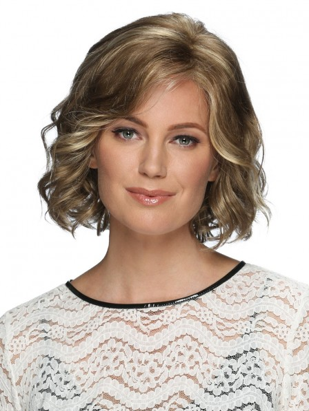 Lace Front Short Layered Bob Wig