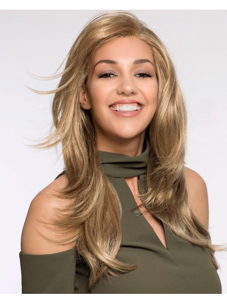 Long Layered Synthetic Blonde Hair Wig