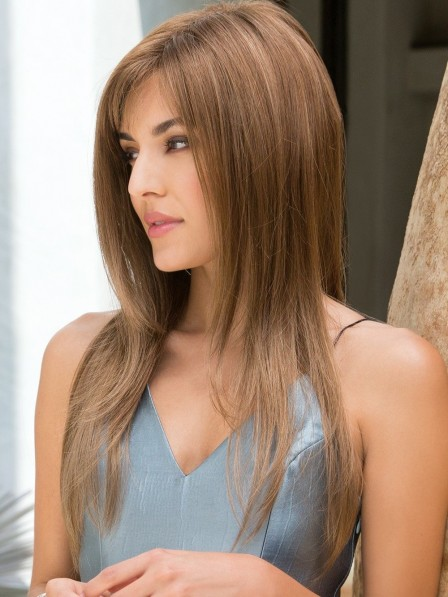 Long Sleek Stunning Capless Women Wig
