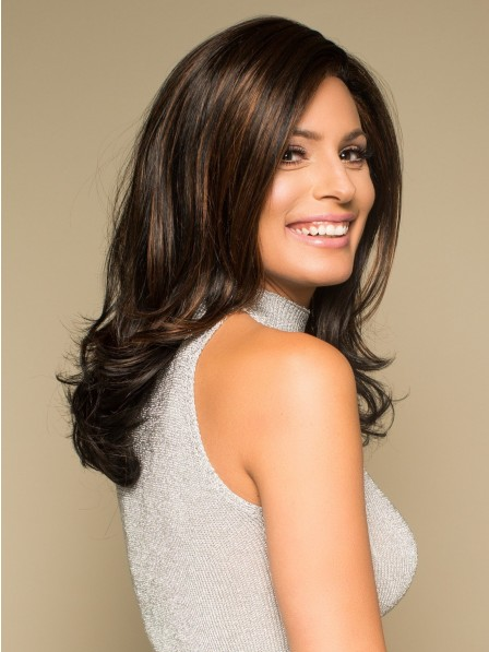 Long Sophisticated Long Wig with Layers