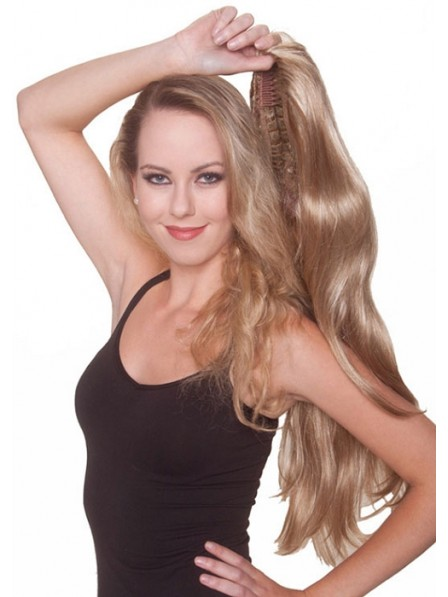 Long Wavy 3/4 Synthetic Hair Wig