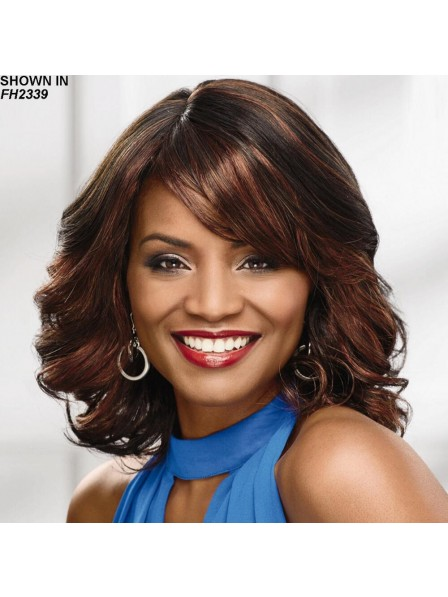 Long Wavy Bob Wig With A Comfortable Stretch Cap