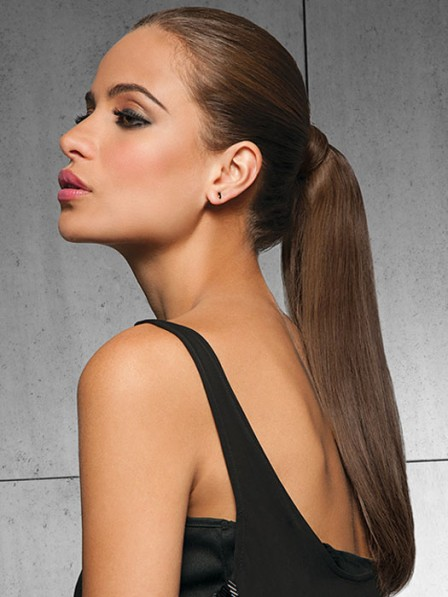 luxury 18 inch 100% Human Hair Ponytail