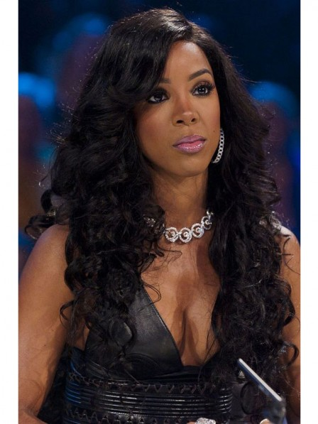 Madern long curly black women s hairstyle synthetic quality hair f8b3d0f0e1