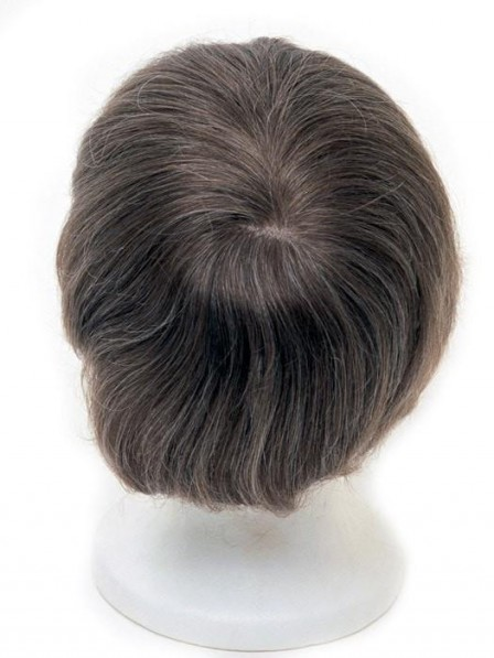 Men's System 6 x 9 Human Hair Topper Toupees