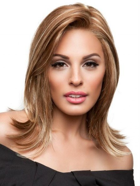 Mid-Length Synthetic Lace Front Wig