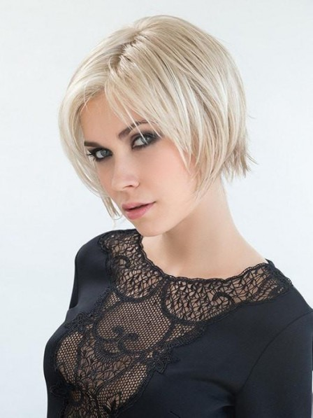 Modern Bob Style Synthetic Lace Front Wig