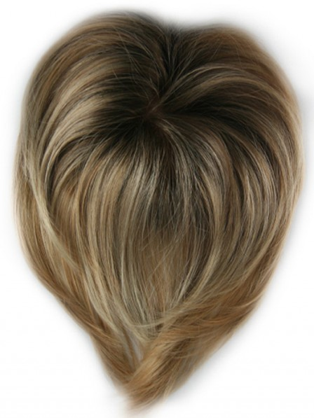 Monofilament Top Synthetic Hair Piece