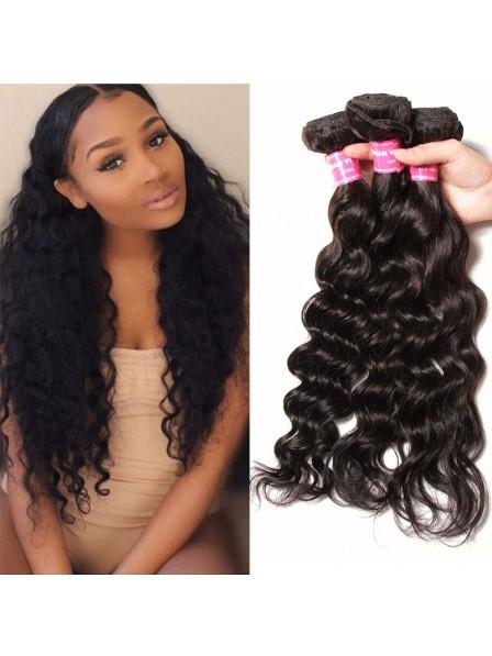 Virgin Natural Hair Weaving Cheap Human Hair 3 Bundles - Rewigs.co.uk ae04f1a0a