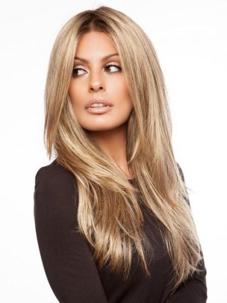Natural Looking Long Blonde Women Wig