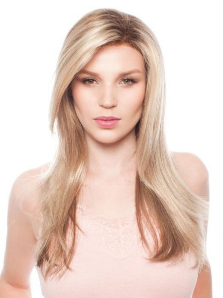 Natural Looking Long Layered Straight Lace Front Wig