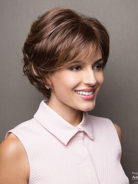 Natural Looking Textured Bob Wig