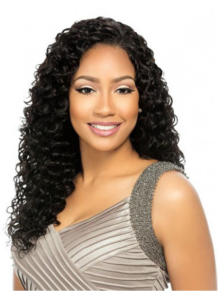 Natural weave volume hairstyle malaysian human hair wigs