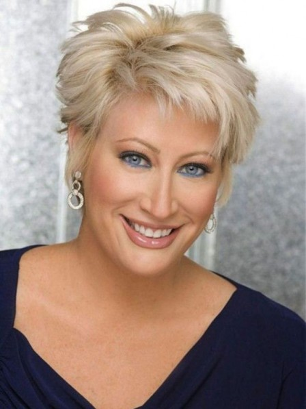 New Arrival Layered Short Straight Full Lace Synthetic Hair Wigs